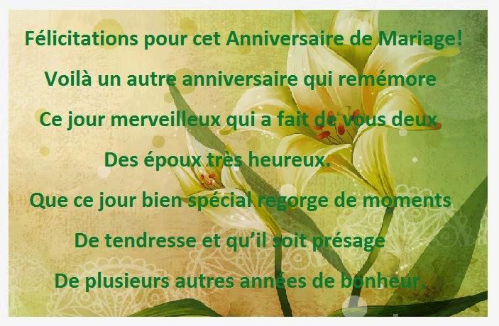 image - Poeme Felicitation Mariage